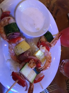 Shrimp and Veggie Skewers
